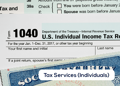 Tax Services for Individuals