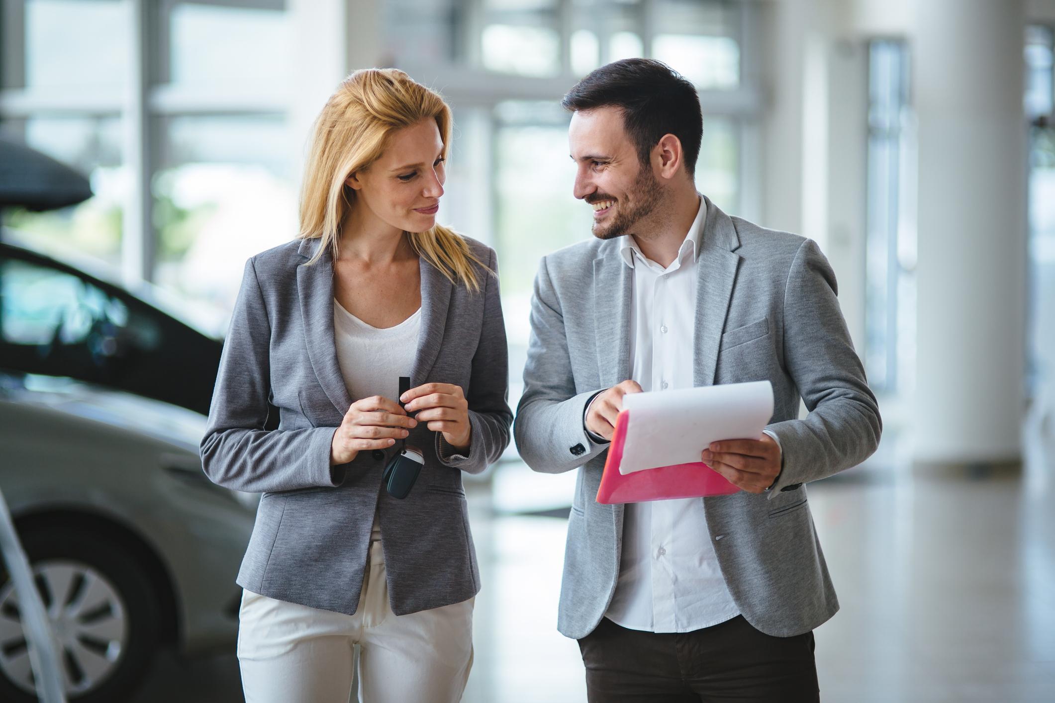 Business Transaction in Car Dealership