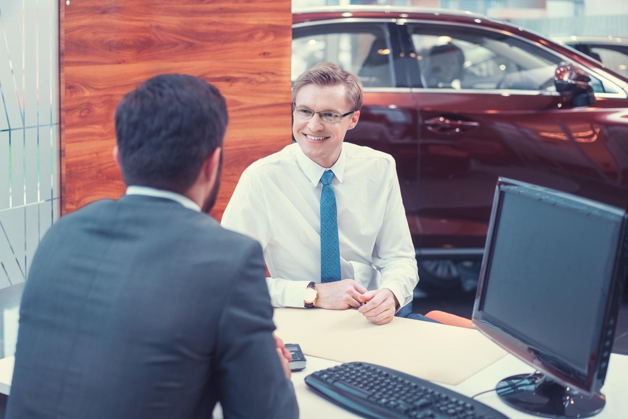 Conversation at Car Dealership